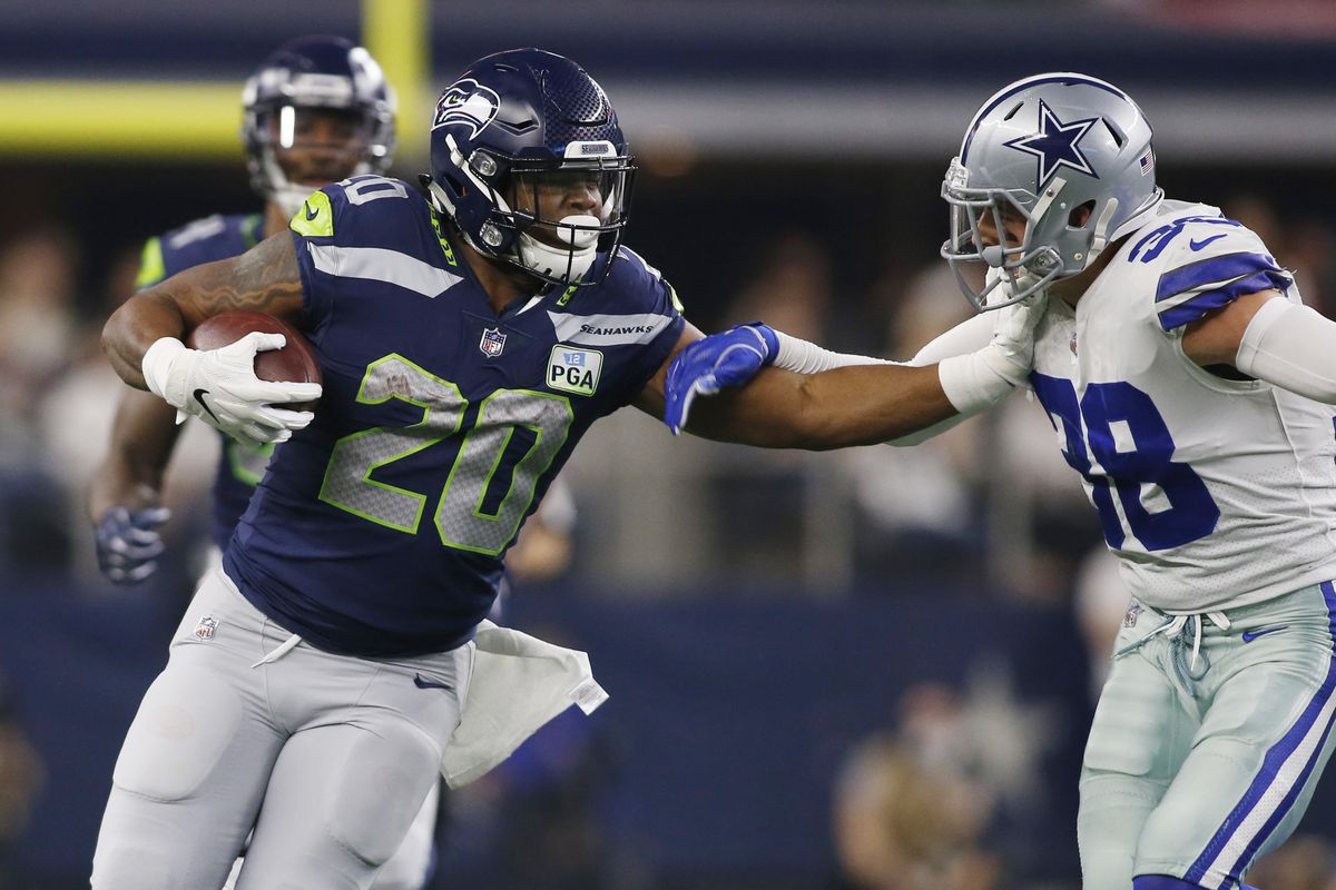 premium selection a3c9f fbbd8 Seahawks News 8/23: How Can Rashaad Penny Improve in 2019 ...