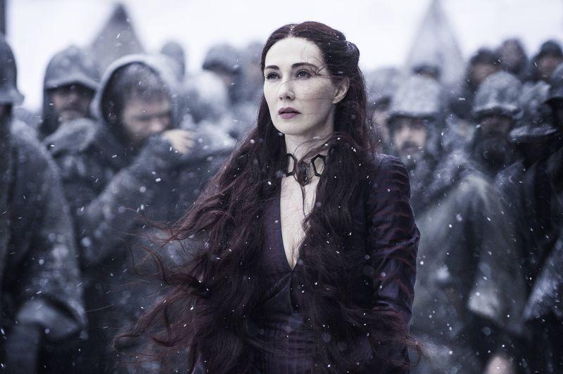 Melisandre on Game of Thrones