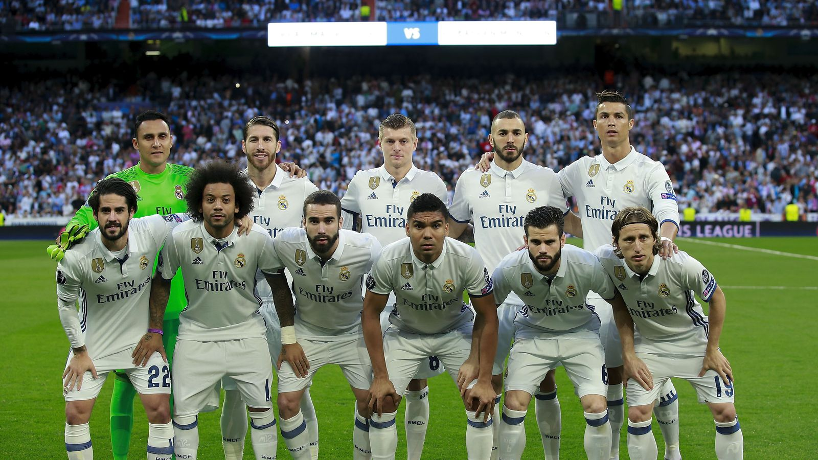 real madrid announce squad for el clasico against fc