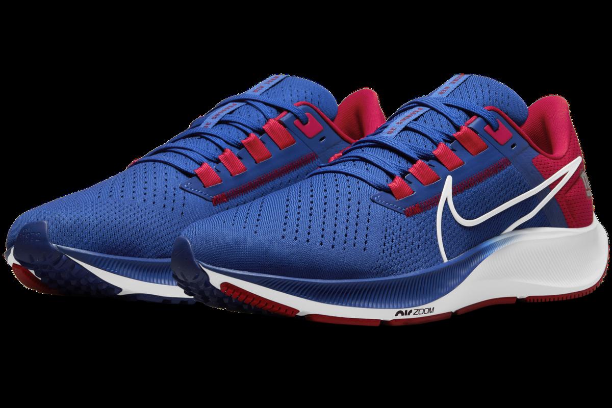 New New York Giants Nike Air Zoom Pegasus 38 shoes drop - Big Blue ...