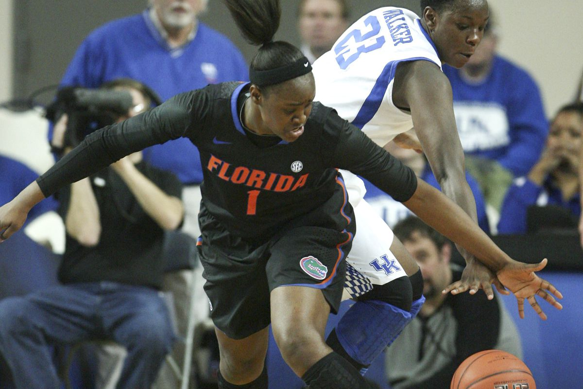 Florida's Ronni Williams had a big night against the Ags