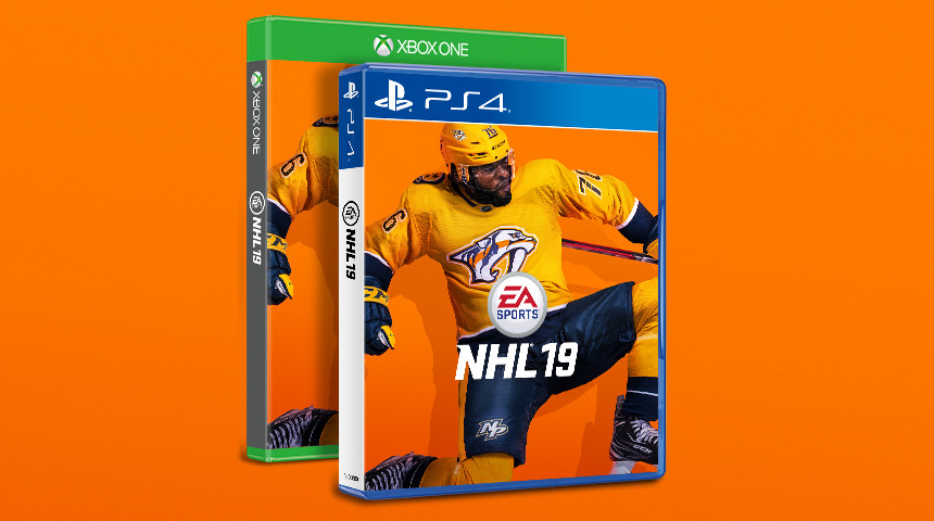P.K. Subban named  NHL 19  cover athlete - SBNation.com 85a695f84