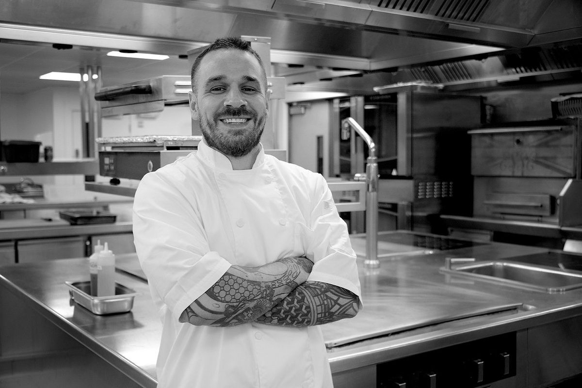 Chef Gary Usher of Sticky Walnut and Burnt Truffle will cook with Angela Hartnett at Michelin-starred restaurant Murano in London this November