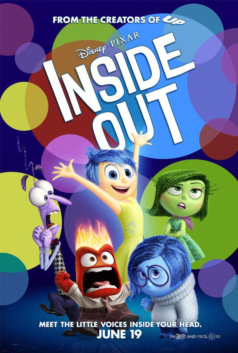 Inside Out poster (PIXAR/DISNEY)