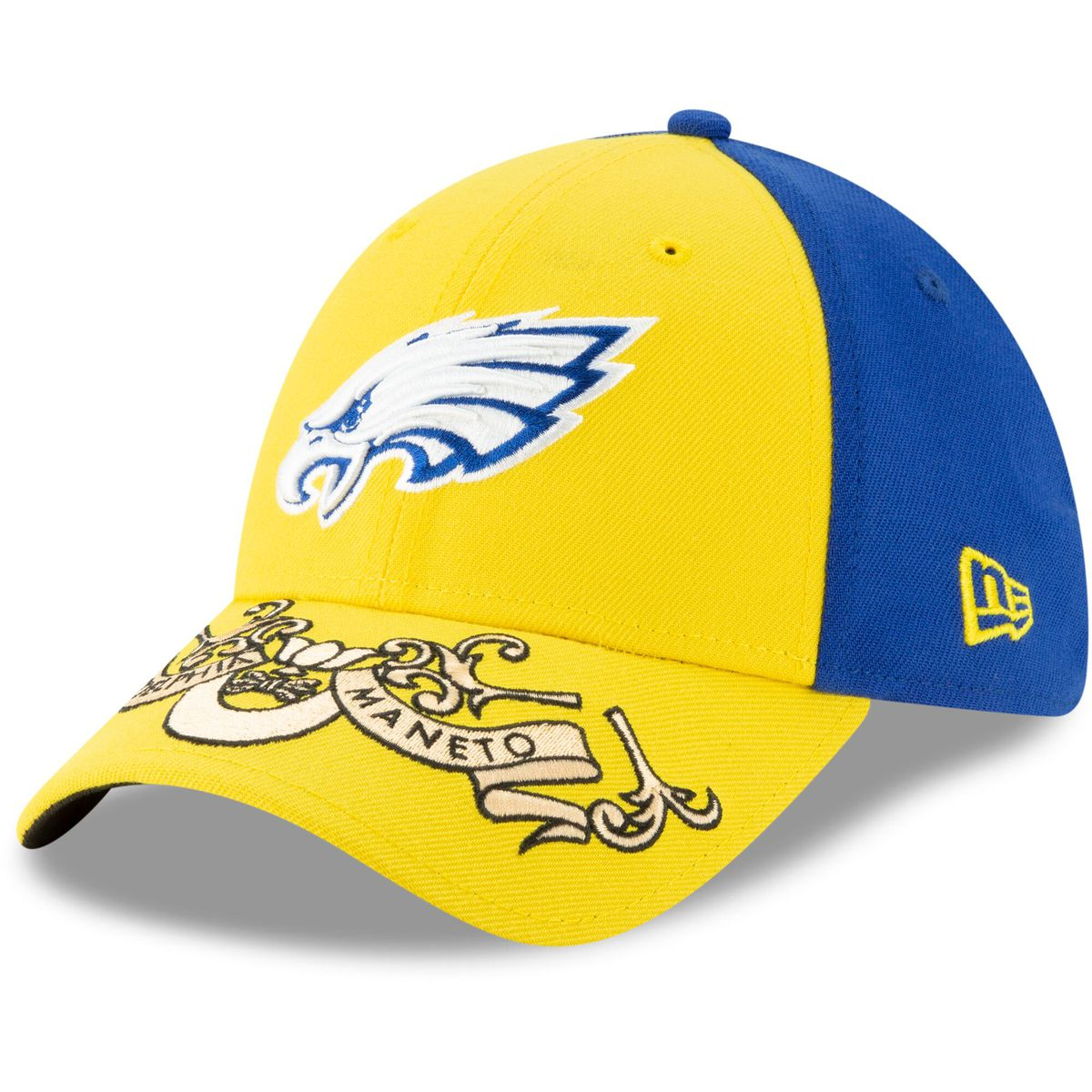 06702abf4bd2a New Era also has a hat available using the colors from this flag. Remember  the Eagles  blue and yellow throwback uniforms worn back in 2007