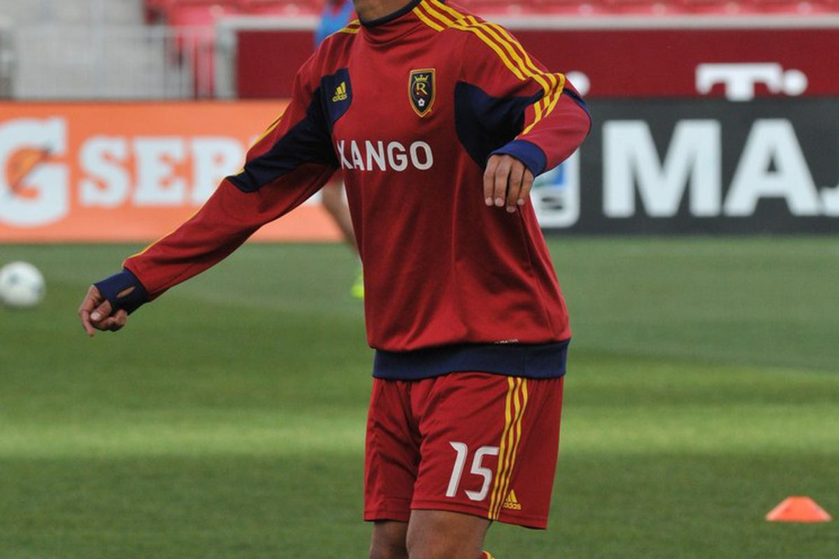 Alvaro Saborio continues to his return to full time action, could Saturdays match at Portland be his first start of the 2012 MLS season?  Yes and I think he could be the difference maker for Real Salt Lake against the Timbers. (photo by me)