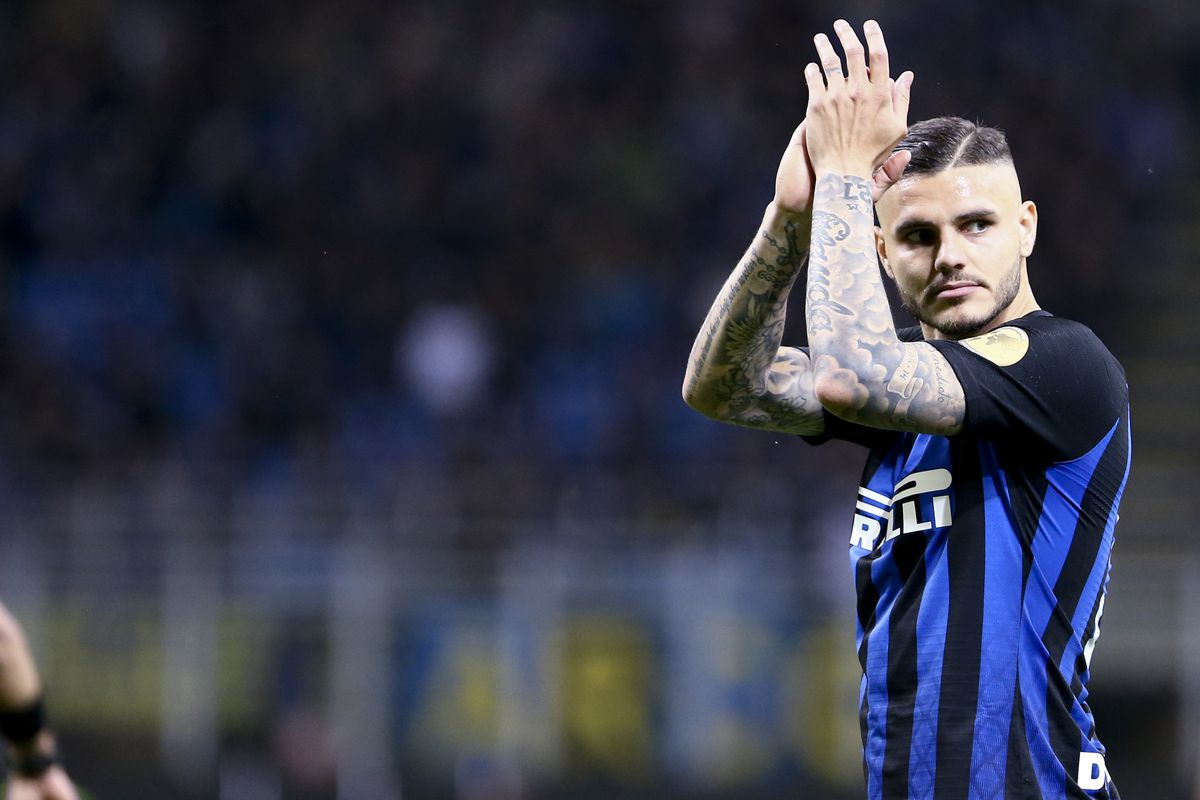 Mauro Icardi of FC Internazionale during the Serie A...