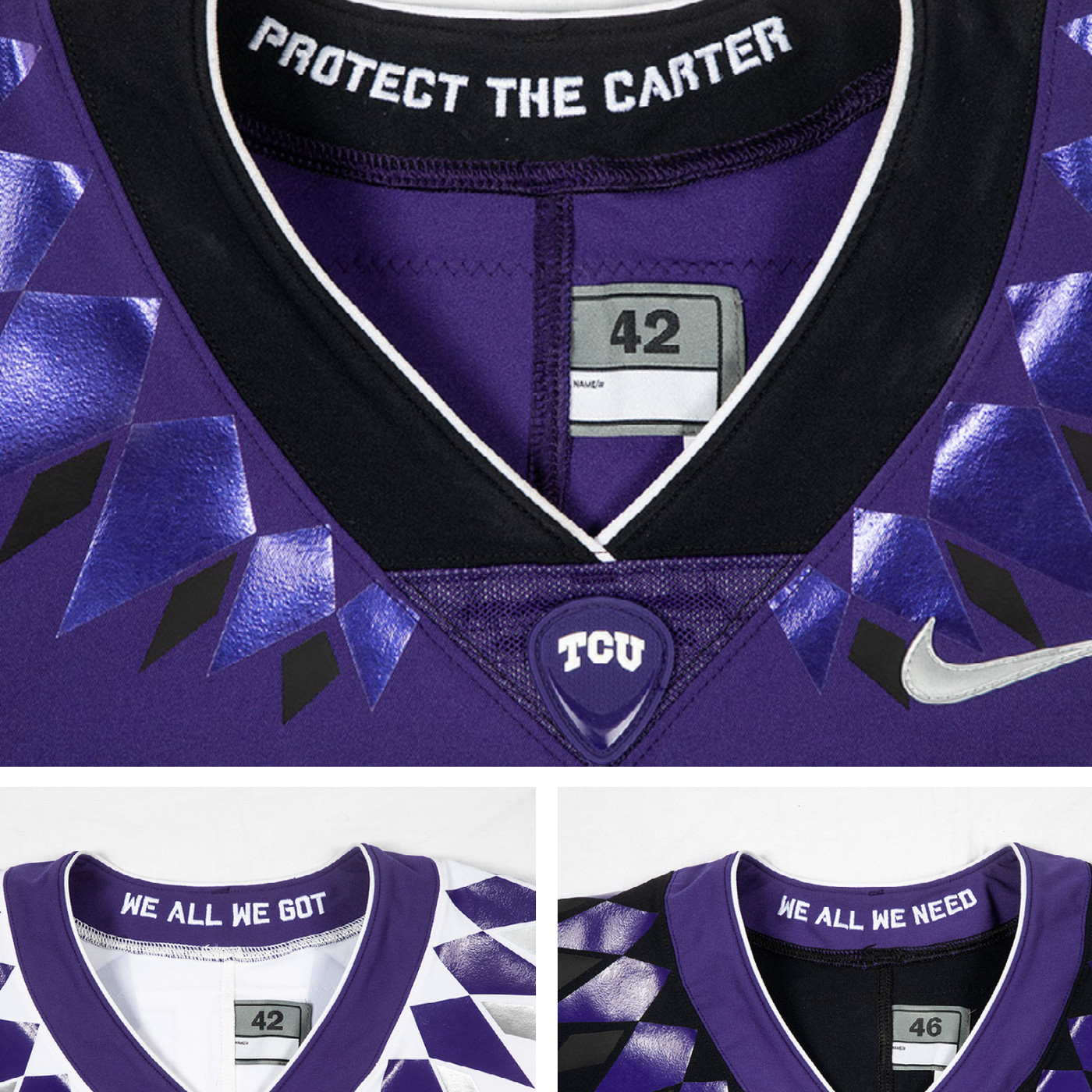 ed2d8df195c TCU Football revealed their uniforms Wednesday. Here's what people thought  about the new look.