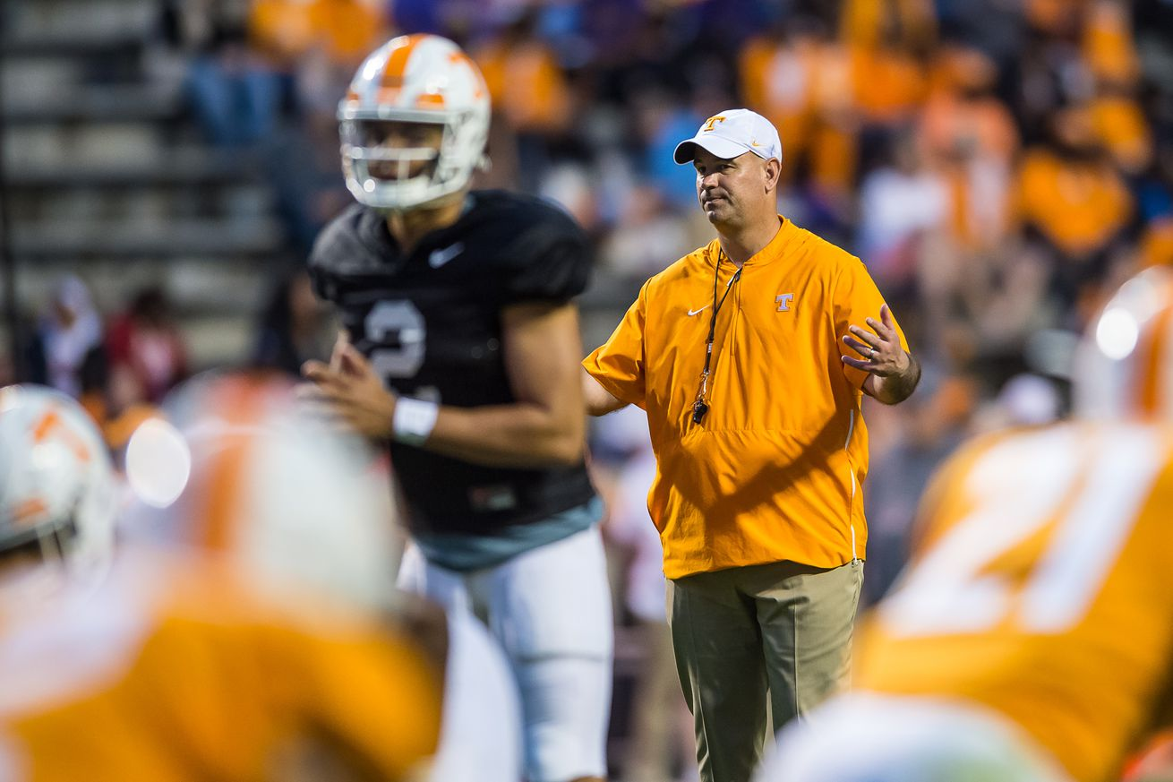 Media projects Tennessee to finish 5th in SEC East in 2019