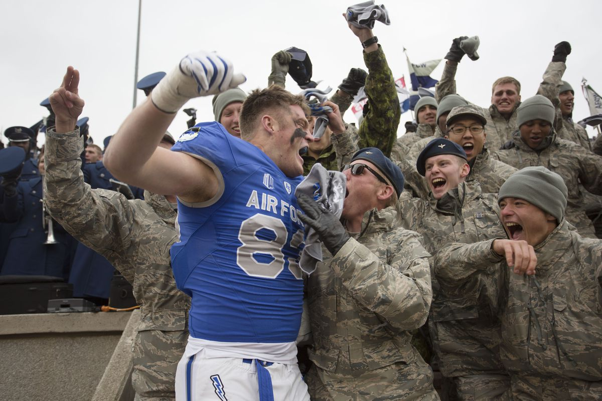 COLLEGE FOOTBALL: OCT 06 Navy at Air Force