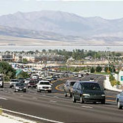 Roads that lead to freeway interchanges, like University Parkway in Orem, turn into bustling business corridors that generate lots of revenue.