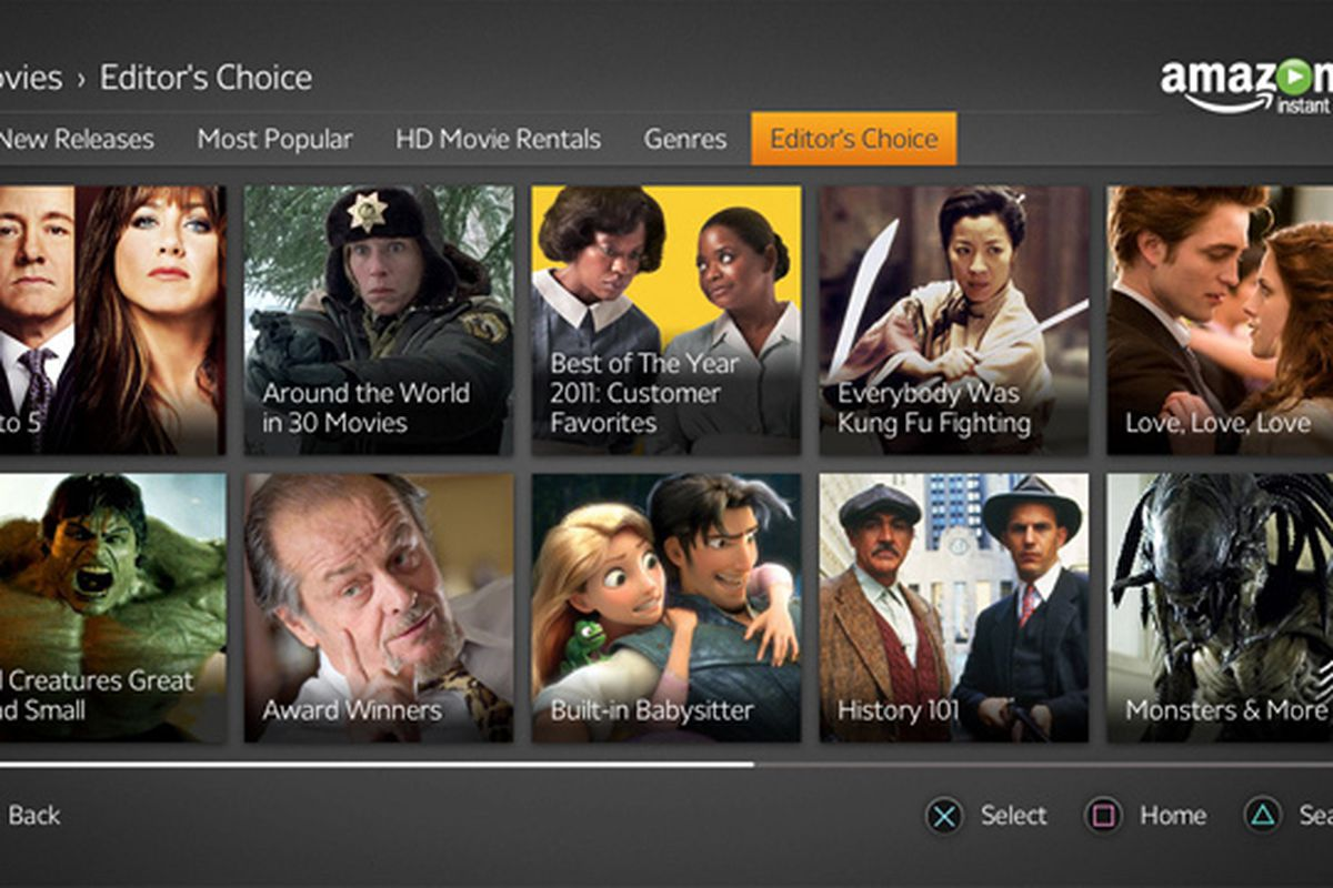 Amazon Prime Instant Video adds A&E, History, and Lifetime after