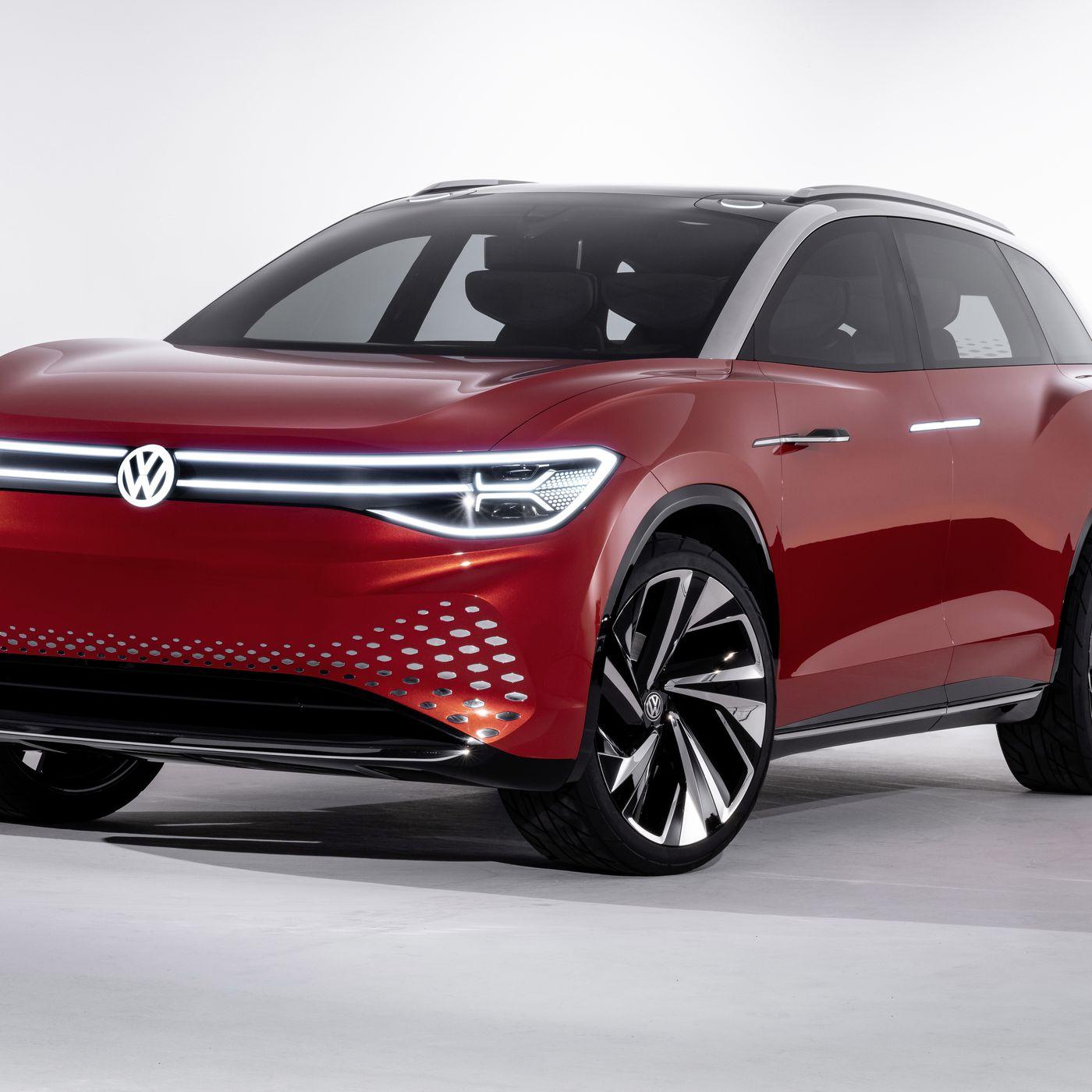 Volkswagen Unveils Next Electric Suv In