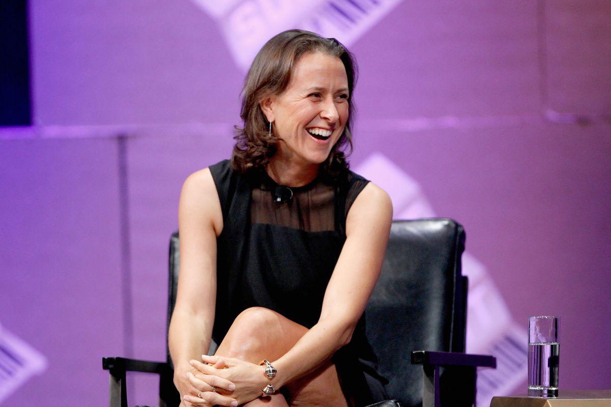 23andMe co-founder Anne Wojcicki onstage