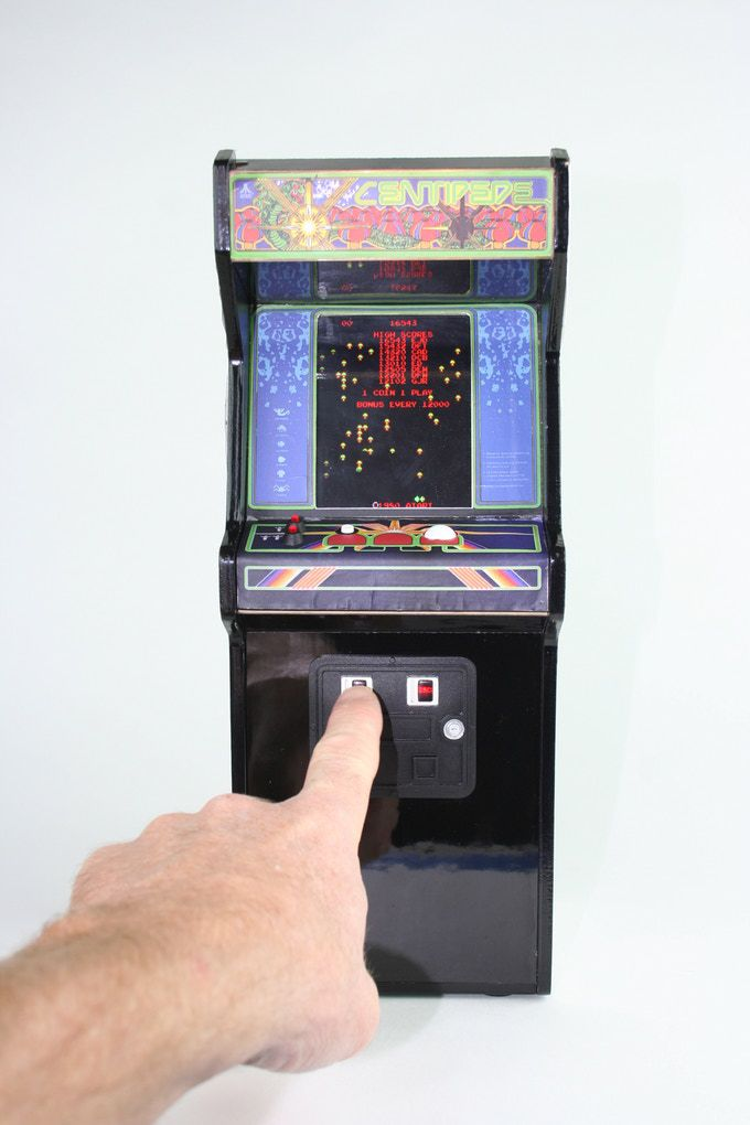 Miniature, collectible arcade cabinets are coming starting with ...