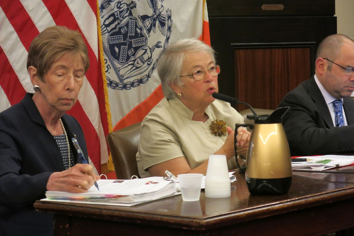Education officials testified to the City Council last week on the school budget, which allots nearly $18 million to pay salaries of a new group of non-working teachers.
