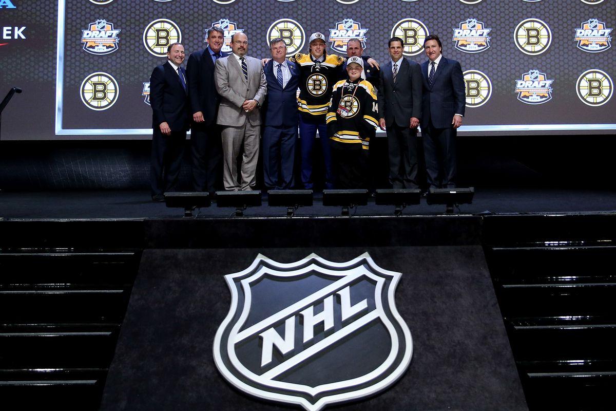 David Pastrnak looks ahead to his Bruins career.