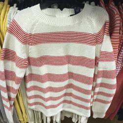 Women's sweater, $50