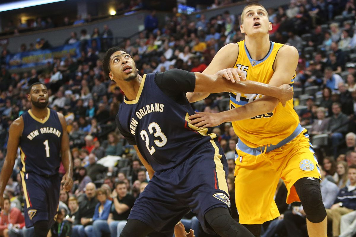 Even sick and seated for long swaths, Anthony Davis put up 27 on the Nuggets tonight