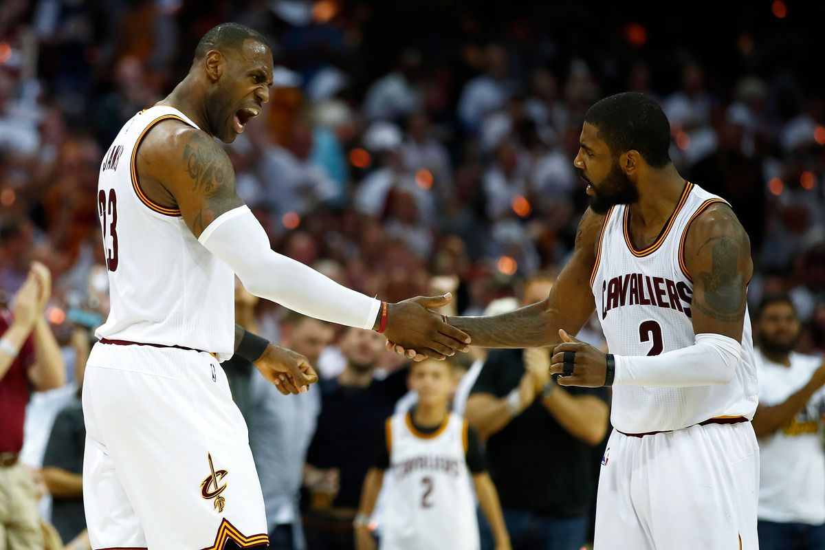 9d1f76f831fc Kyrie Irving is the perfect sidekick for LeBron James - SBNation.com