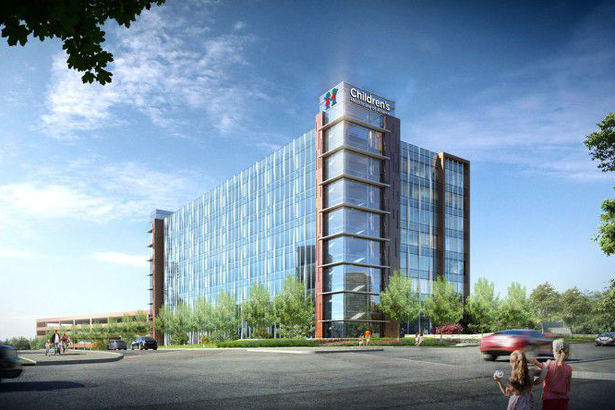 Billion dollar brookhaven hospital rising quickly along for Innovation consulting atlanta