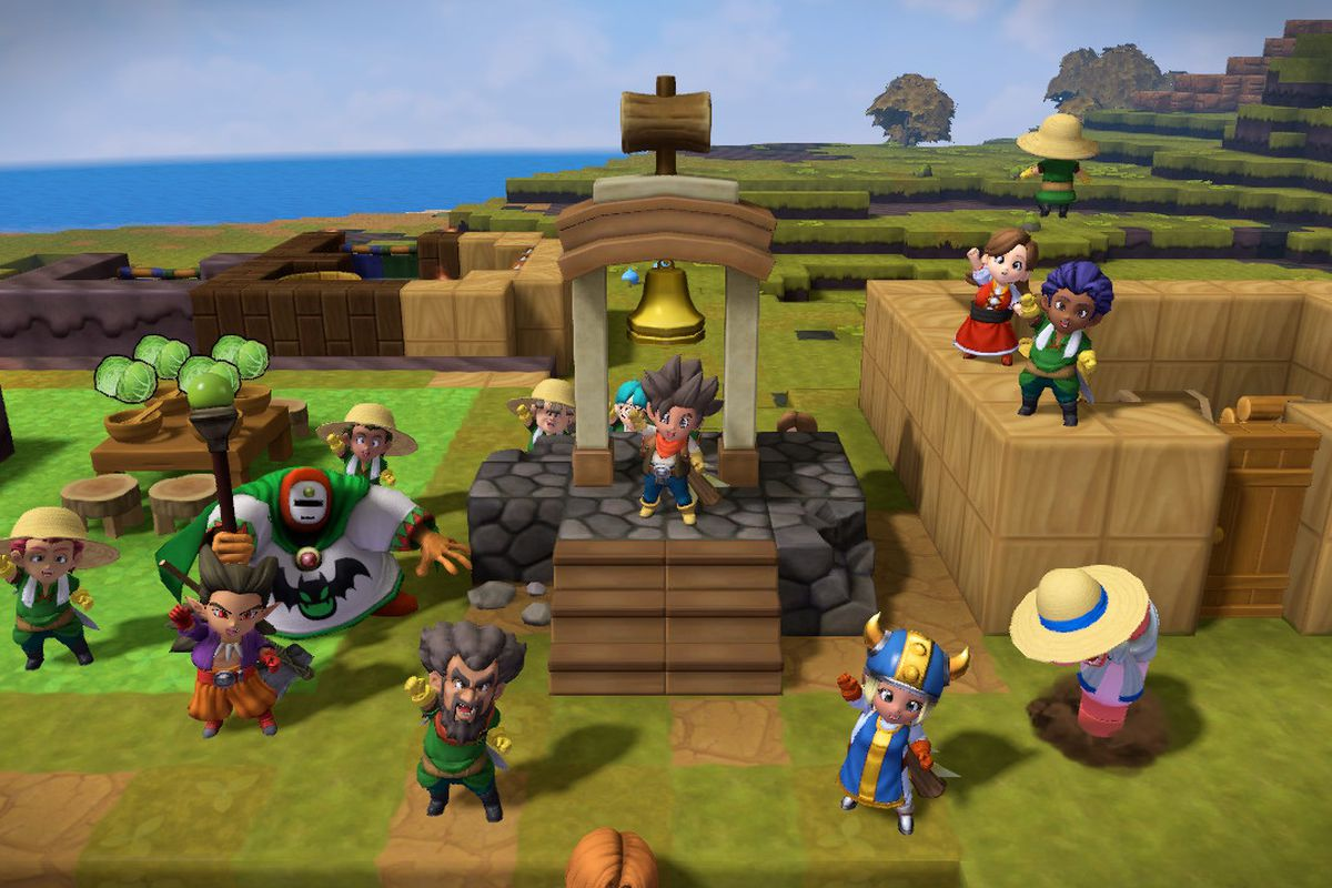 Dragon Quest Builders 2 players can't get over how villagers
