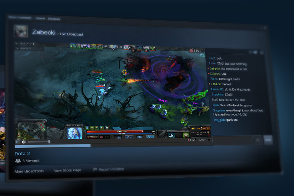 PC Gaming Juggernaut Steam Tests Twitch Competitor - Vox