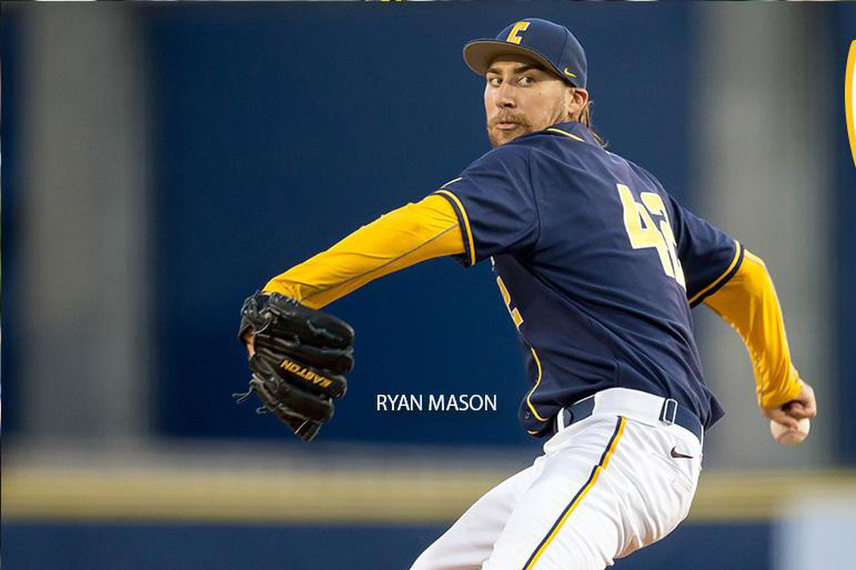 Ryan Mason should be back on the mound for the Bears this weekend.