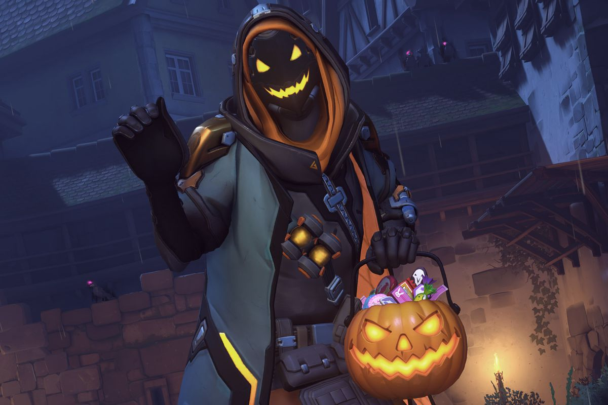 anas legendary skin from overwatchs halloween terror event blizzard entertainment - Halloween Halloween