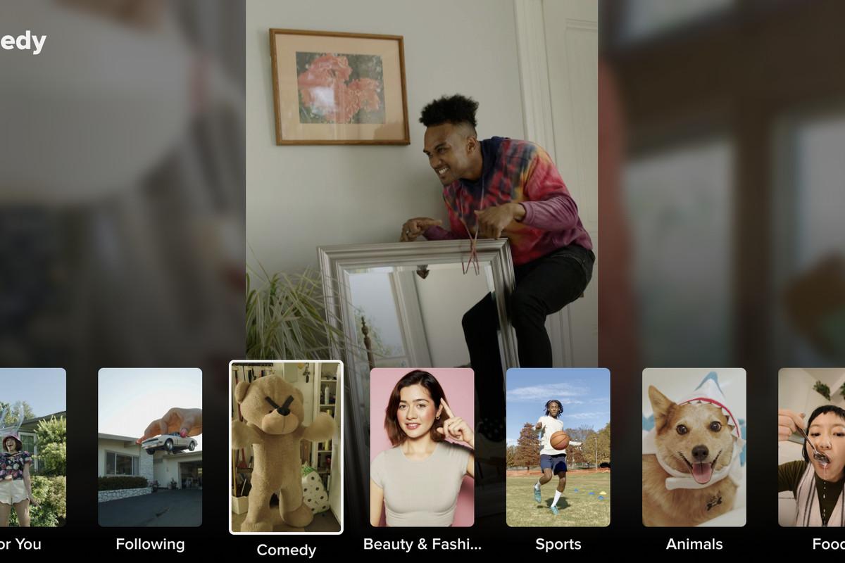 TikTok has come to Google's Android TV platform