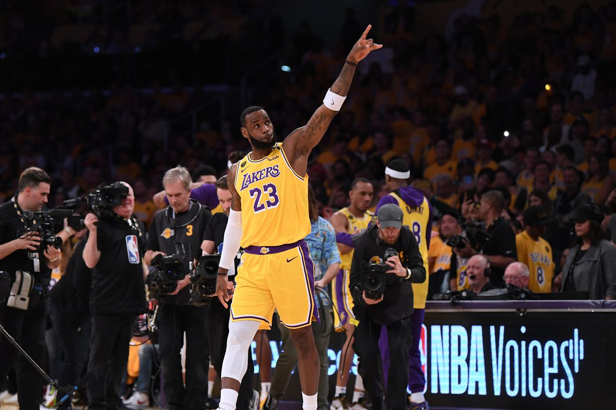 Lakers News Lebron Says I Ll Be A Laker For The Rest Of My Life Silver Screen And Roll