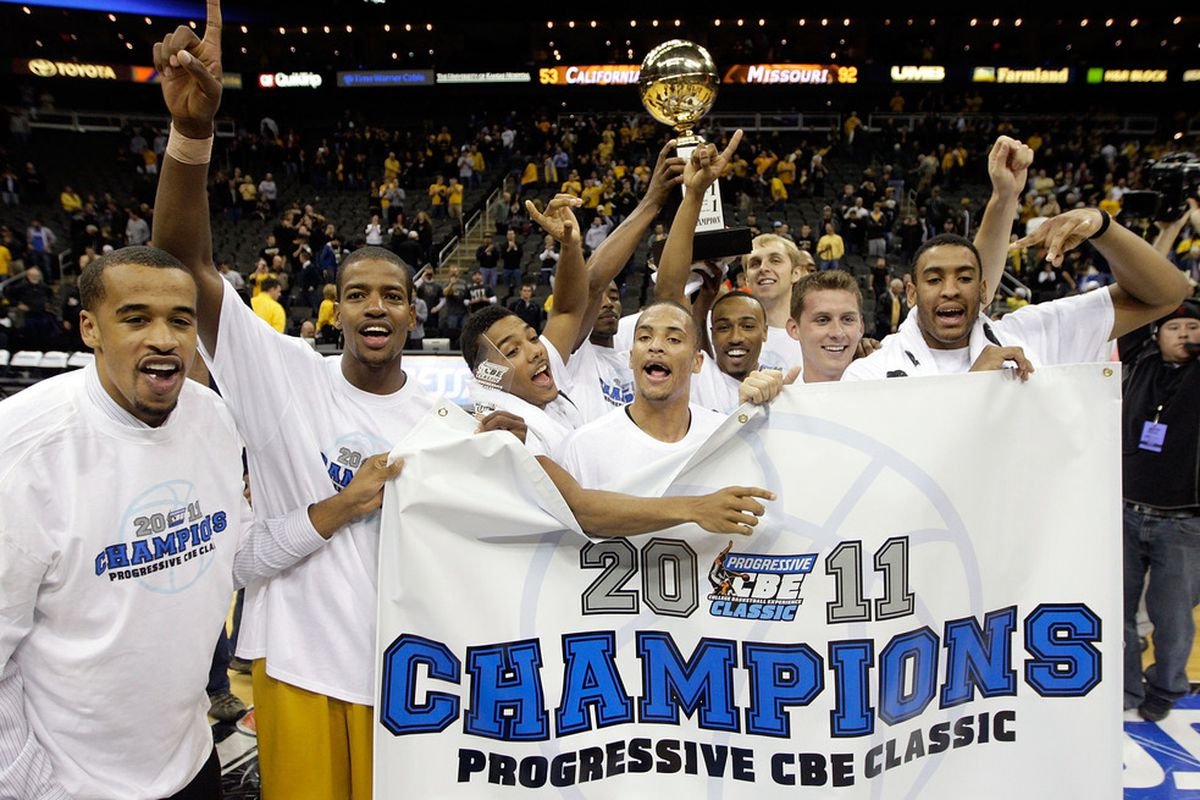 KANSAS CITY, MO - NOVEMBER 22: Missouri picked up a pair of resounding wins to claim the 2011 CBE Classic. Next season, they'll face a far stiffer challenge in the Bahamas. (Photo by Jamie Squire/Getty Images)