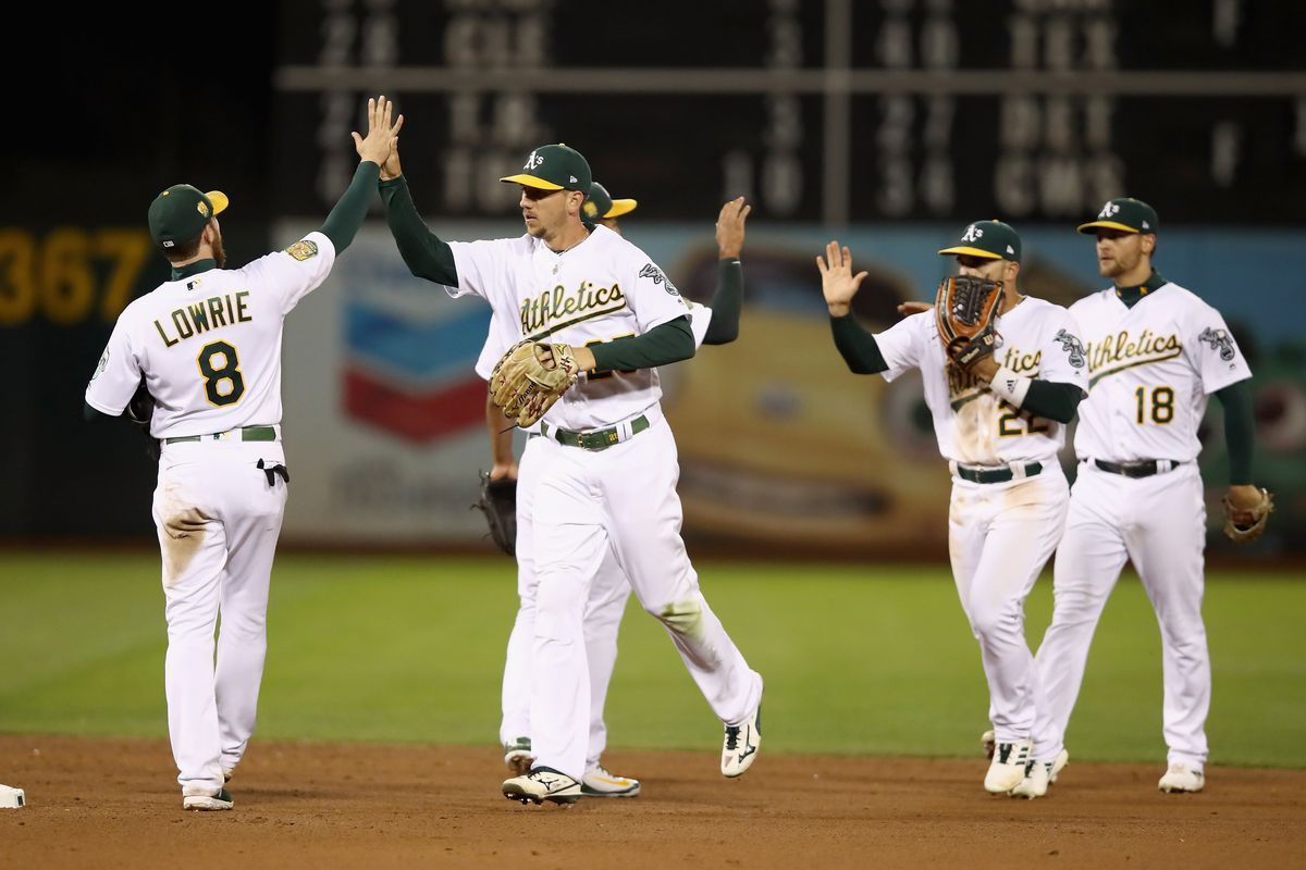 07f66ca1d3d The Oakland A s Feature MLB s Best Position Players - Athletics Nation