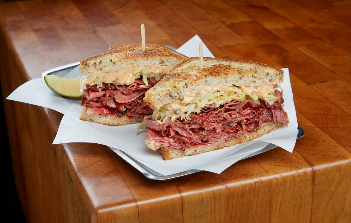 Corned beef from Moody's in Back Bay