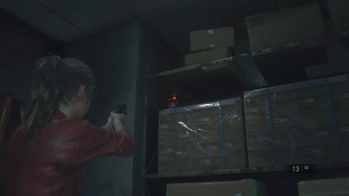 Resident Evil 2 Mr. Raccoon Chief's East Storage Room