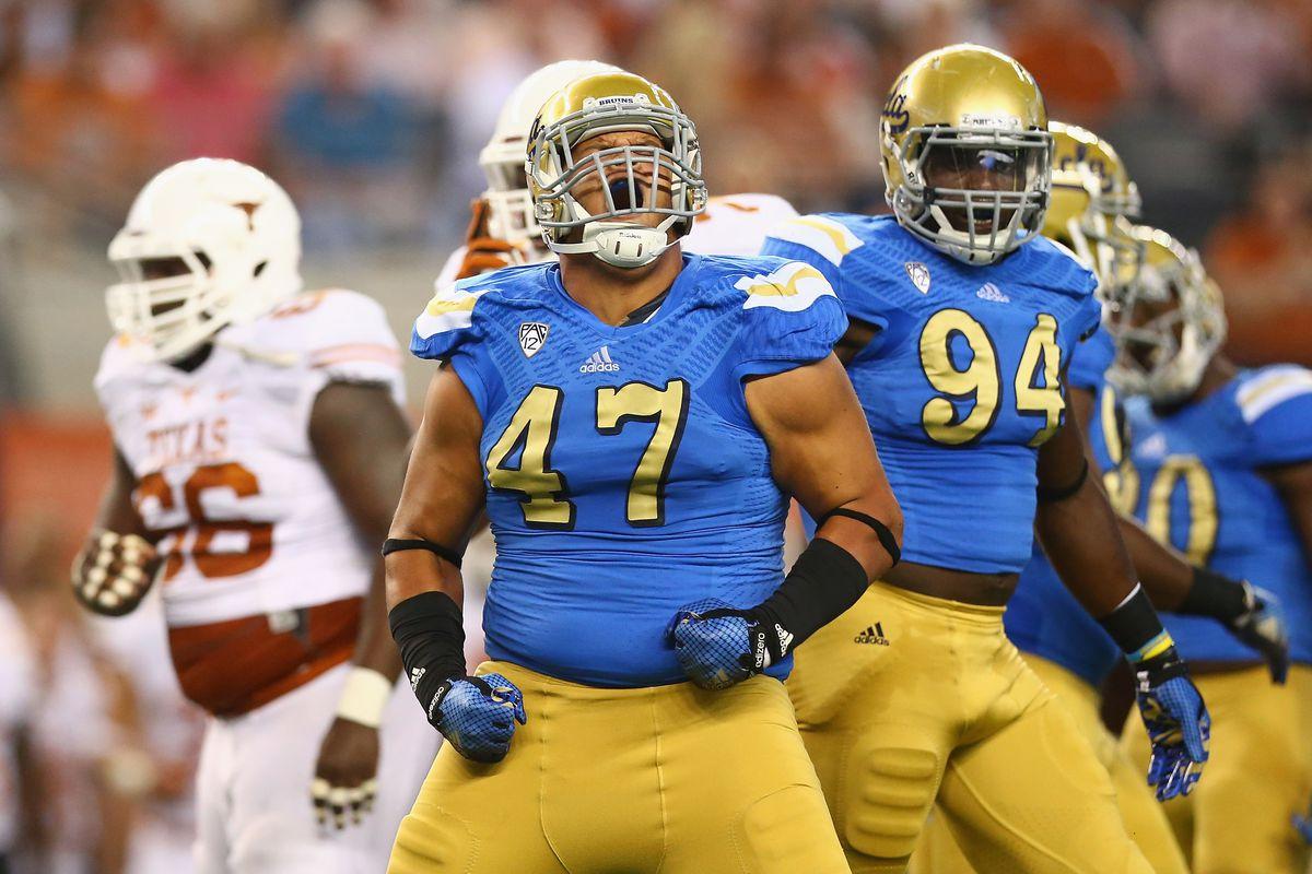 UCLA's Eddie Vanderdoes