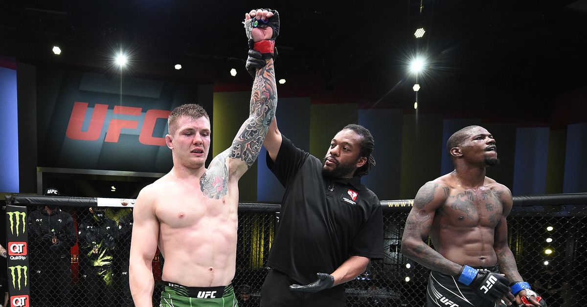 Marvin Vettori wants plane ticket to UFC Vegas 24 so he can tell Dana White 'I'm next in line'