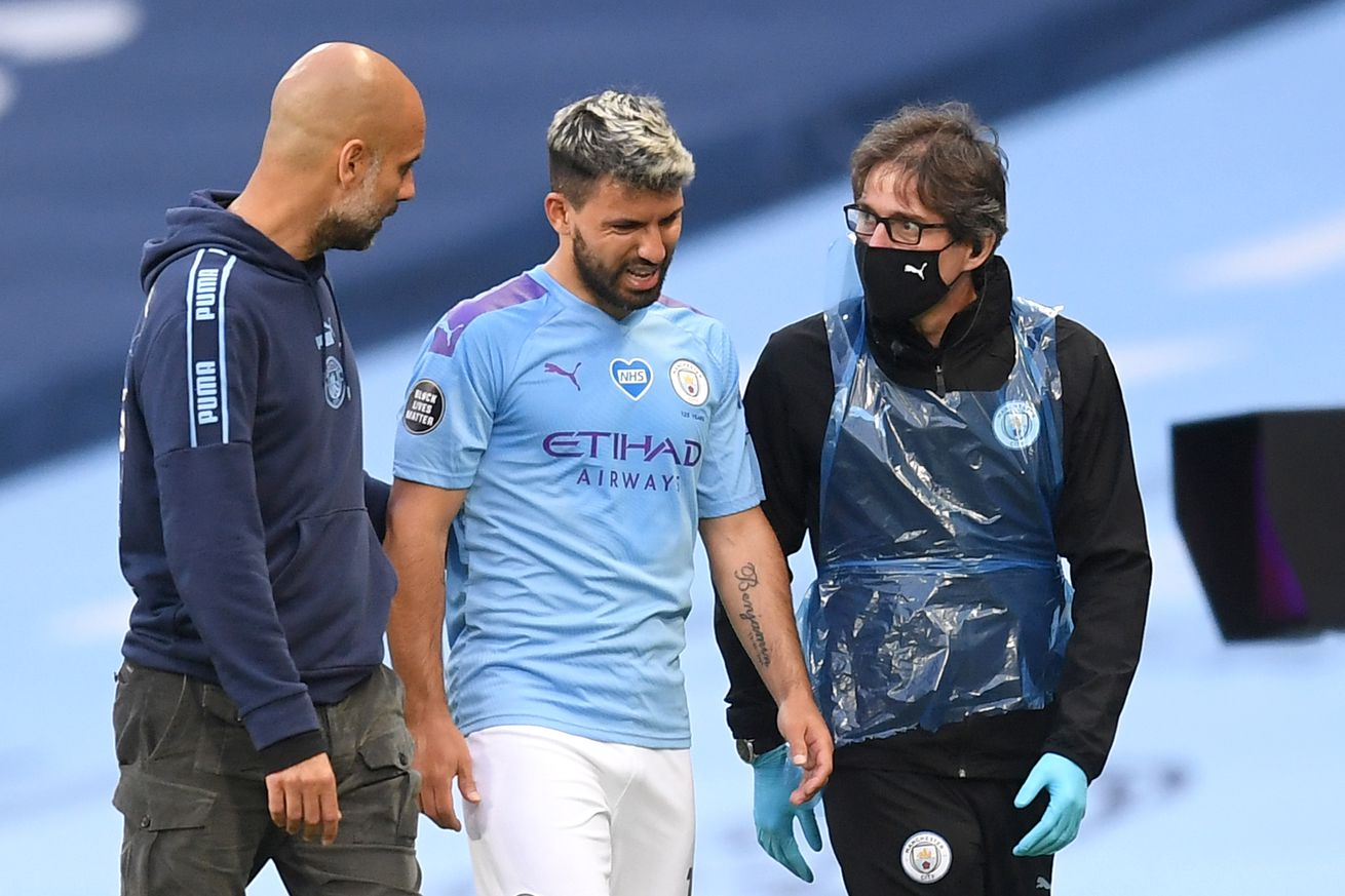 Guardiola now says Agüero will not be available against Real Madrid