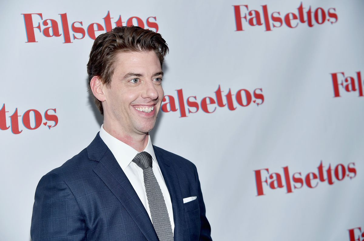 """Actor Christian Borle attends the """"Falsettos"""" opening night on October 27, 2016 in New York City. (Photo by Mike Coppola/Getty Images)"""