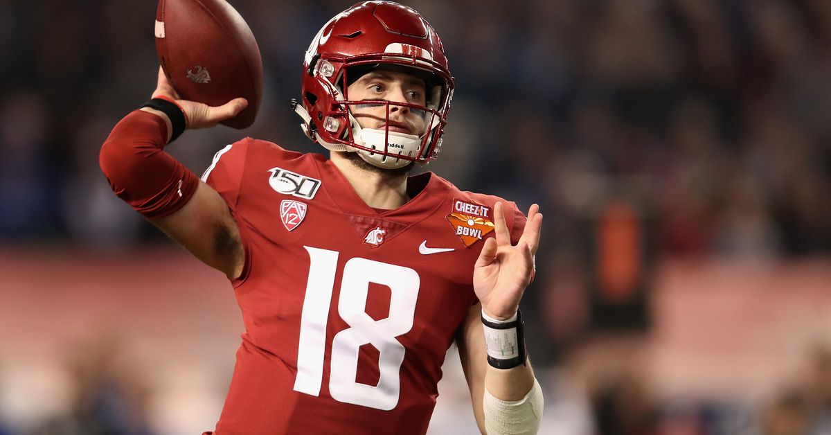 Could the Colts 'Take a Shot' on WSU QB Anthony Gordon in the NFL Draft?