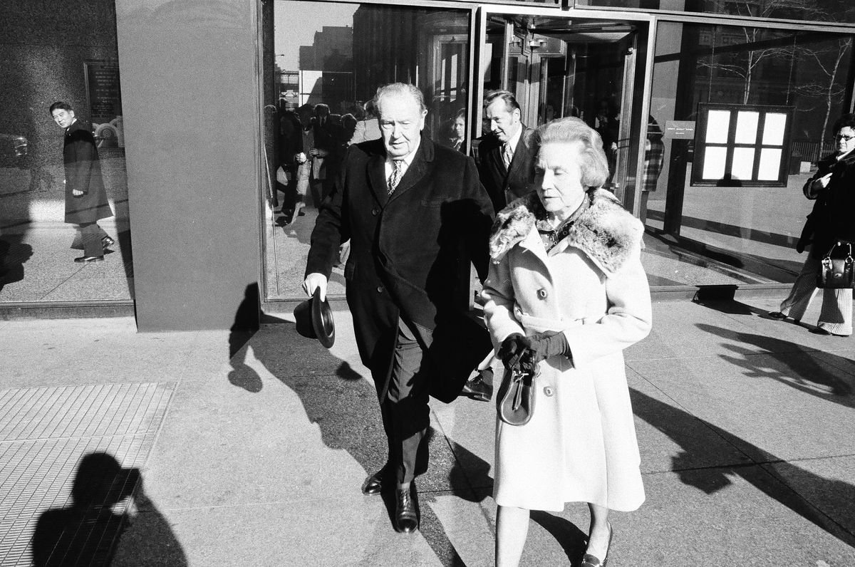 Ald. Thomas Keane leaves the federal courthouse in 1974 after he is sentenced to 5 years in prison.