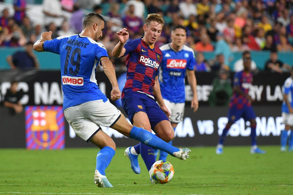 Barcelona Vs Napoli Preseason Friendly Team News Preview Lineups Score Prediction Barca Blaugranes