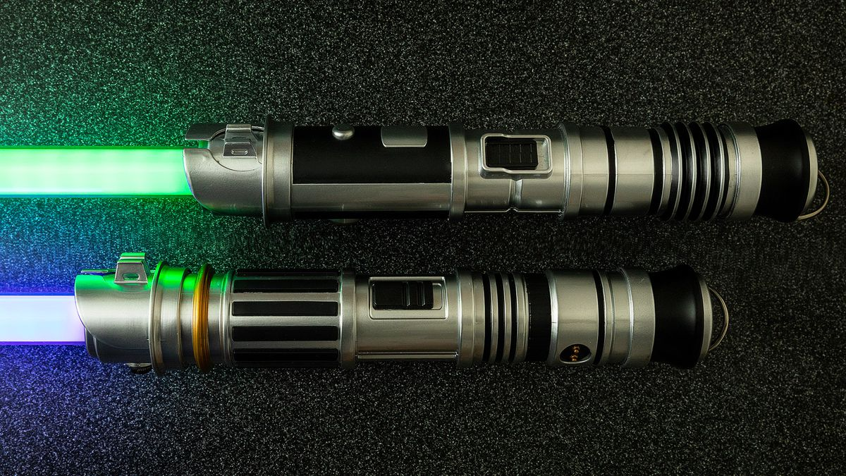 savi workshop Lightsaber custom parts both sleeves