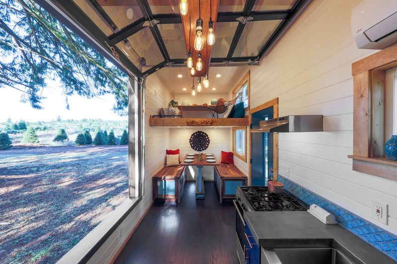 Tiny House Doubles As Rock Climbing Gym - Curbed