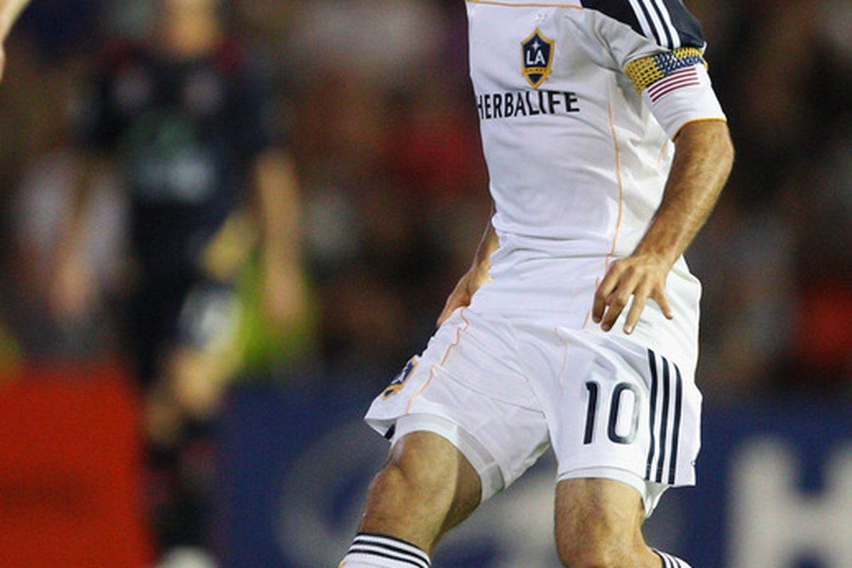 Despite playing for MLS side LA Galaxy, Landon Donovan remains our nation's best player, a testament to the league. (Photo by Mark Kolbe/Getty Images)