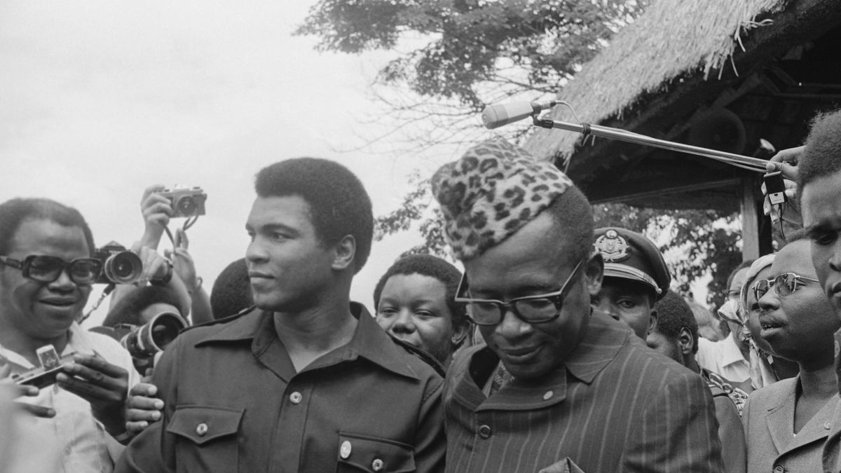 Mobutu and Ali Talking