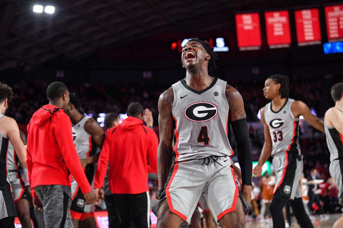 NCAA Basketball: Texas at Georgia