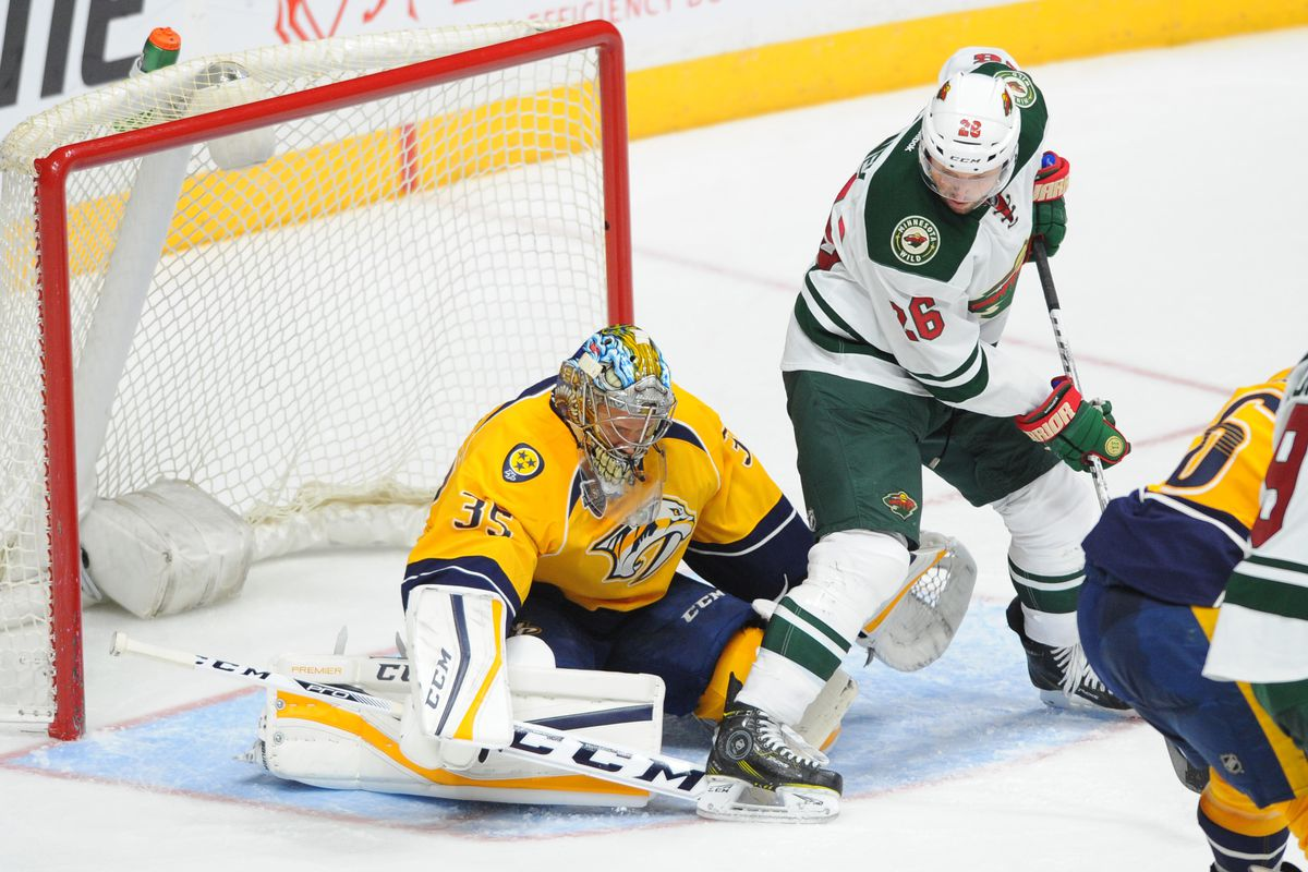 If the Wild can beat the easily-beatable Rinne, they can topple the otherwise-good Predators.