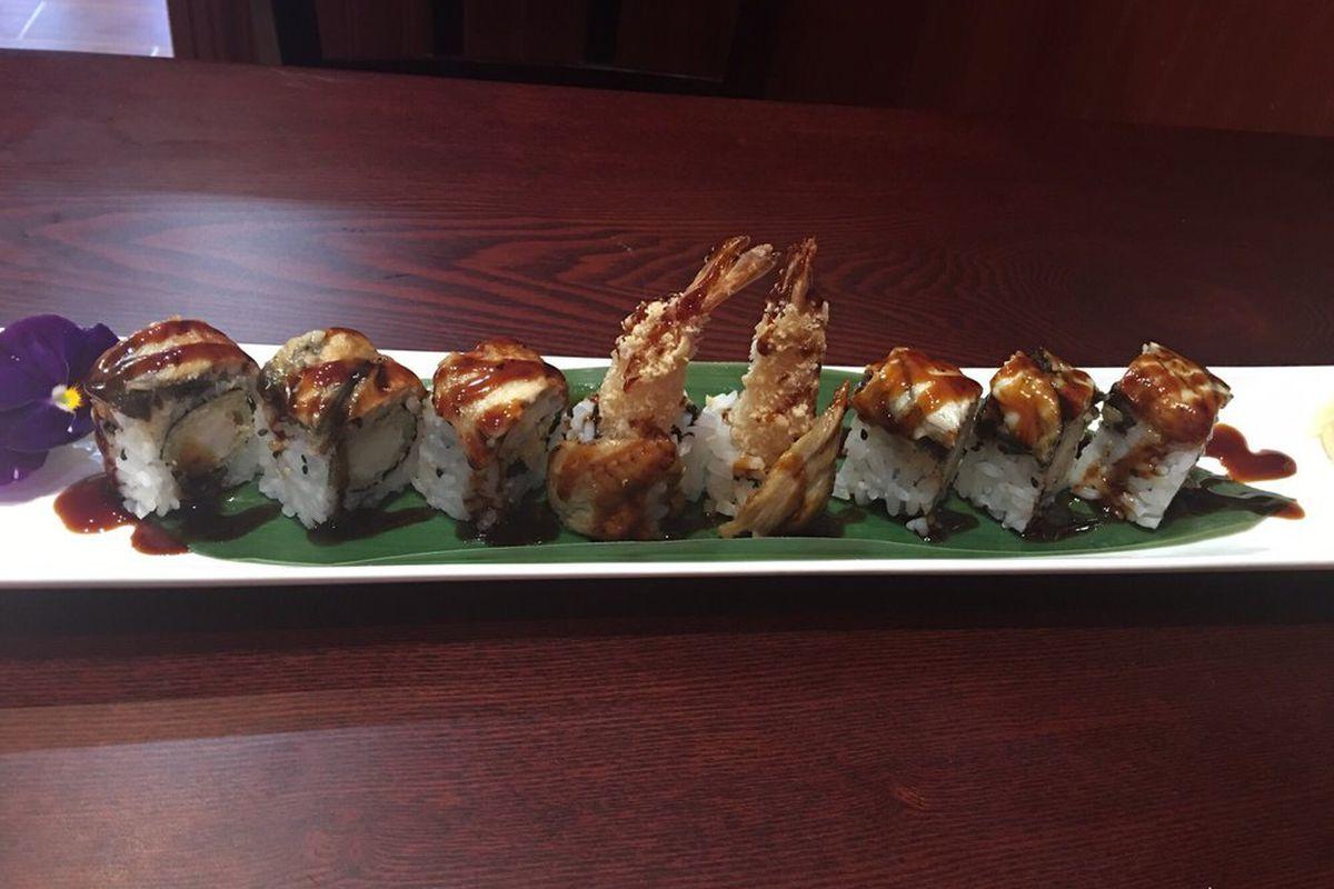 Sushi at Nagoya in Medford