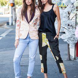 Becca Lane and Kate Watson prefer pretty pastels.
